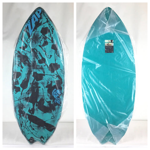 Zap Rocket Fish Resin Wash Skimboard 53""