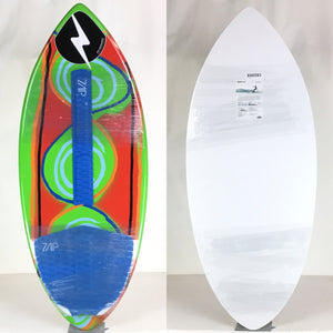 Zap Large Wedge COMPLETE Skimboard 49""