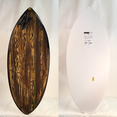 "Zap Large Wedge BLEM Skimboard 49"" With Art"