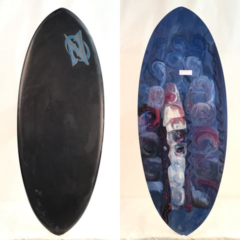 Zap Egg Carbon DISCONTINUED Skimboard 49""