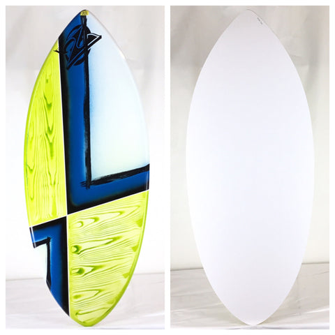 "Zap Large Wedge BLEM Skimboard 49"" Airbrush"