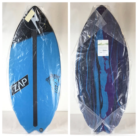 Zap Rocket Fish Skimboard 49""