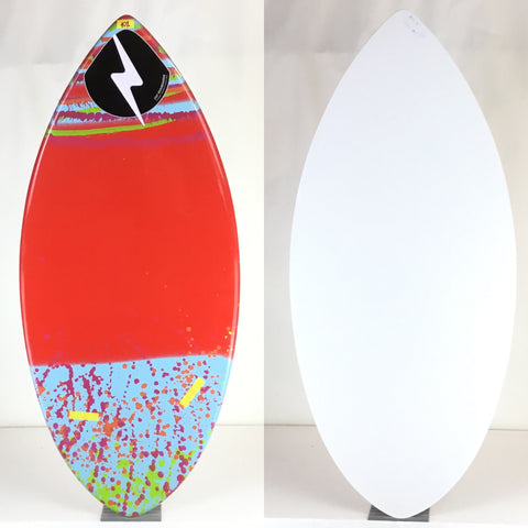 Zap Medium Wedge BLEM Skimboard 45""