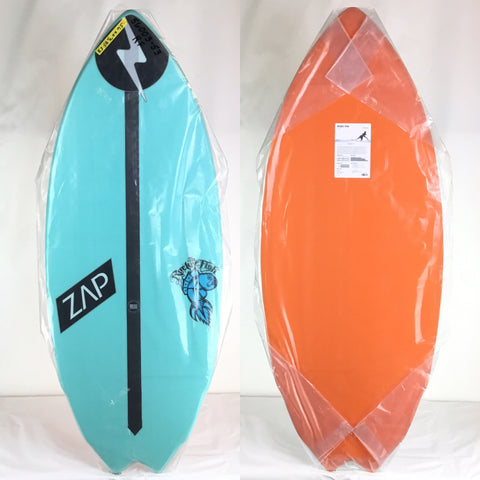 Zap Rocket Fish Skimboard 53""