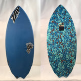 Zap Rocket Fish Skimboard 51""