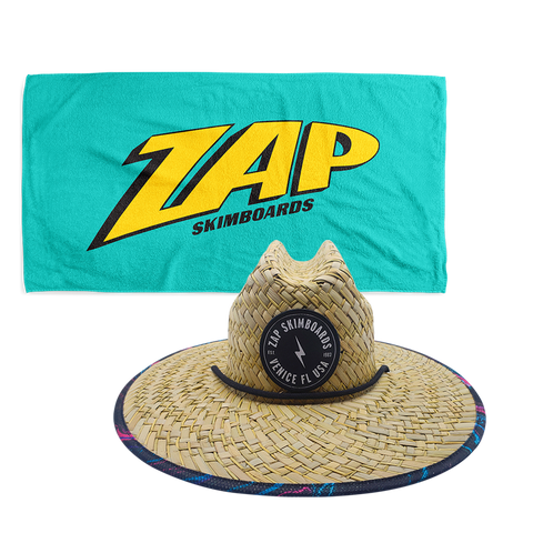Zap Party Hat + Towel Bundle