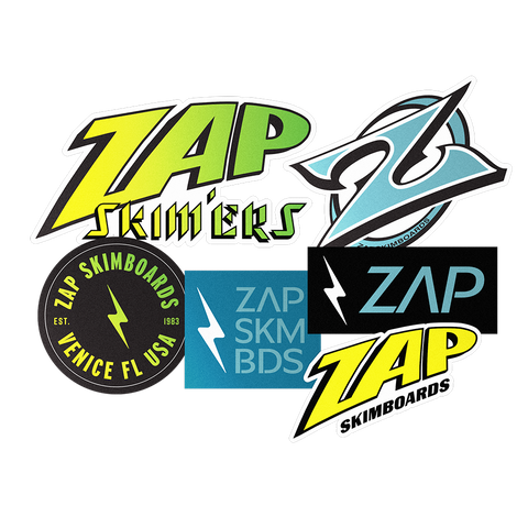 Zap Sticker Pack