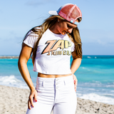 Zap Retro Crop Top
