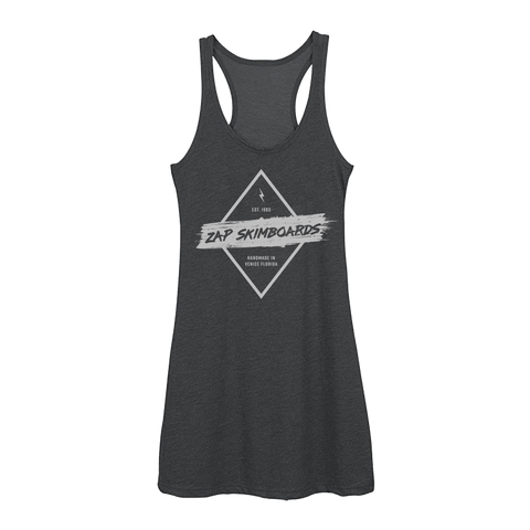 Zap Distressed Tank Dress