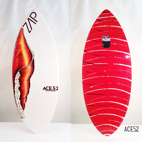 "Ace 52"" Red Custom ArtWork"