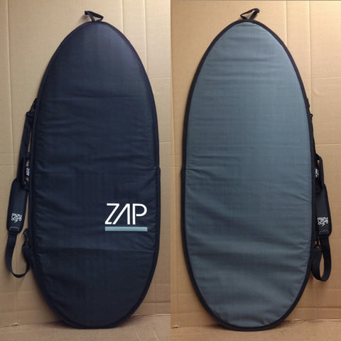 Zap Deluxe Board Bag Black/Smoke