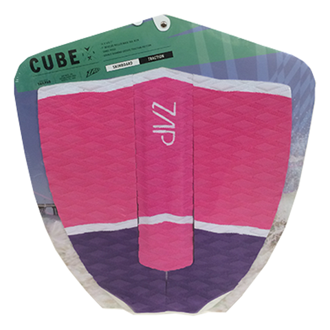 Cube Tail- Pink/White/Purple