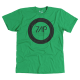 Zap Mens Circled Tee Green