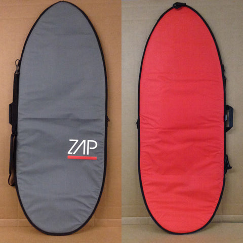Deluxe Board Bag Grey/Red