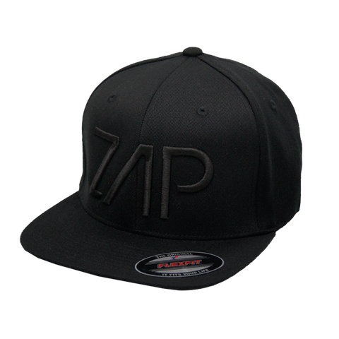 Zap Flexfit Hat Black+Black