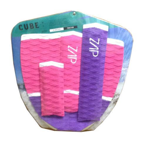 Cube Arch+Tail Pad Set Pink/White/Purple