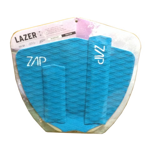 Lazer Arch+Tail Pad Set Cyan Blue
