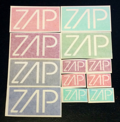 Zap Sticker Pack (24)