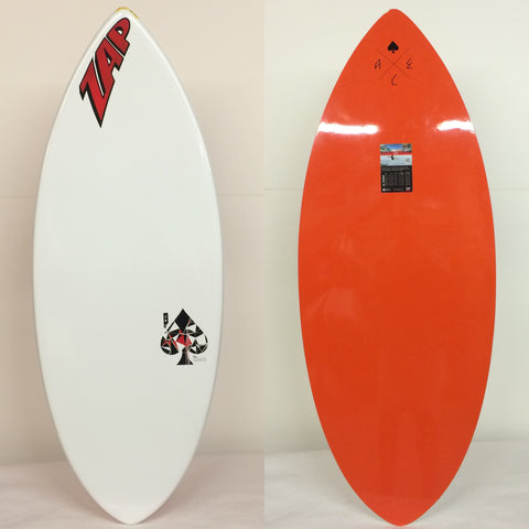 "Ace 47"" Burnt Orange/ Red logo"