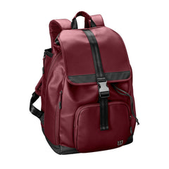 Wilson Fold Over Maroon Womens Tennis Backpack