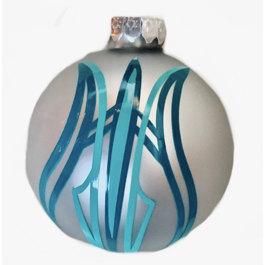 Pinstripe Ornament