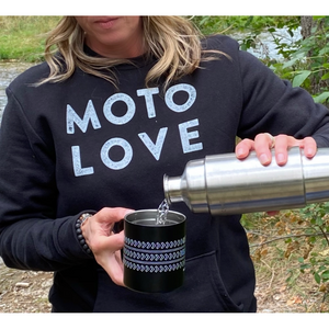 Women's Moto Love Crewneck