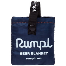 Load image into Gallery viewer, Deepwater beer blanket shown in its small packable form.