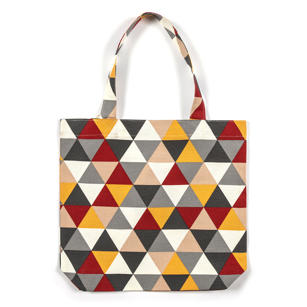 Julie Harlequin Pattern Shopping Tote bag