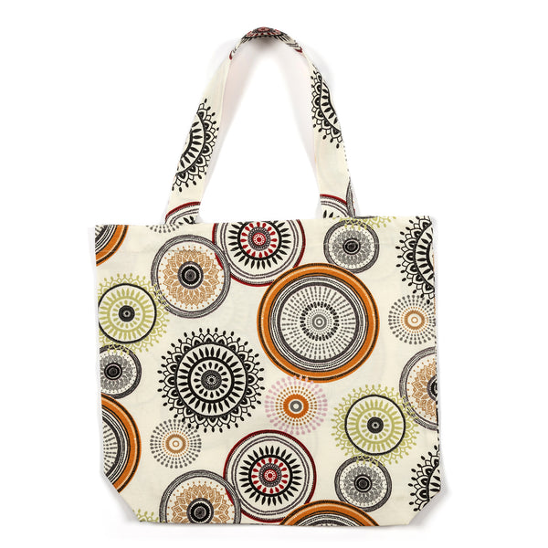 Julie Retro Sixties Shopping Tote Bag