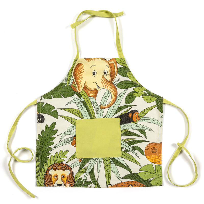 Lauraine Green Forest Kids Apron