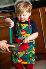 Lauraine Green Jungle Kids Apron