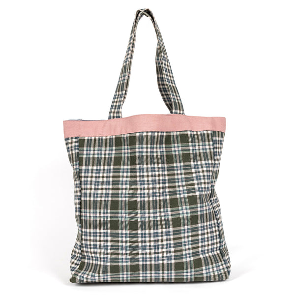 Parween Classic Signature Check Everyday Bag