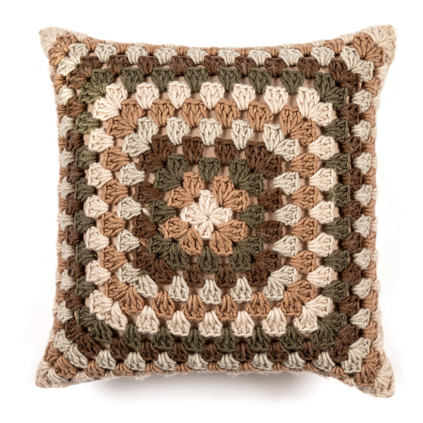 Sara Retro Wool Cluster Cushion Cover