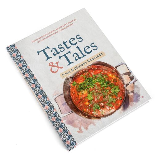 Ba Candy Stripe Apron and Tastes & Tales Cookbook £30