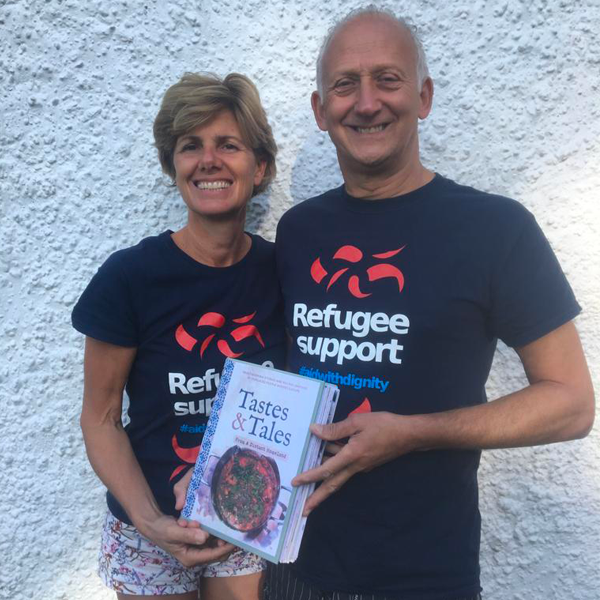 REFUGEE SUPPORT T-SHIRT