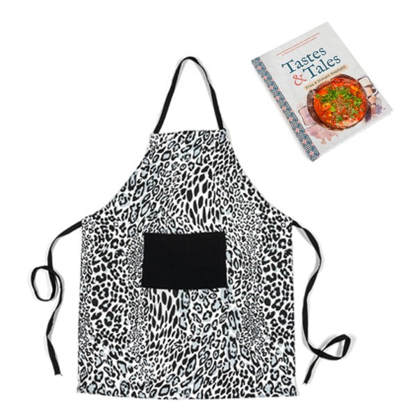 SPECIAL OFFER: Tastes & Tales and Animal Print Apron £25