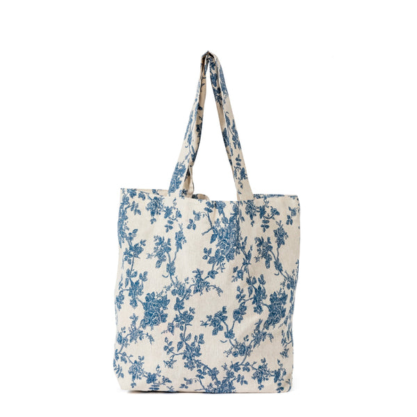 Julie Sketch Wedgewood Shopping Bag