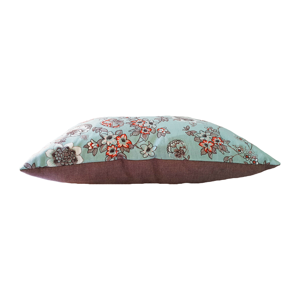 SQUARE CUSHION COVER FLORAL