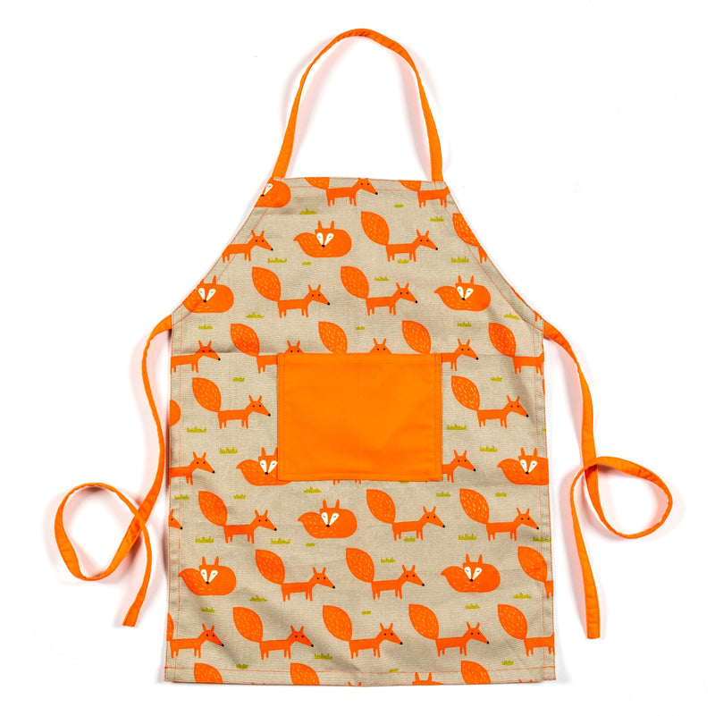 Lauraine Fun Foxy Kids Apron