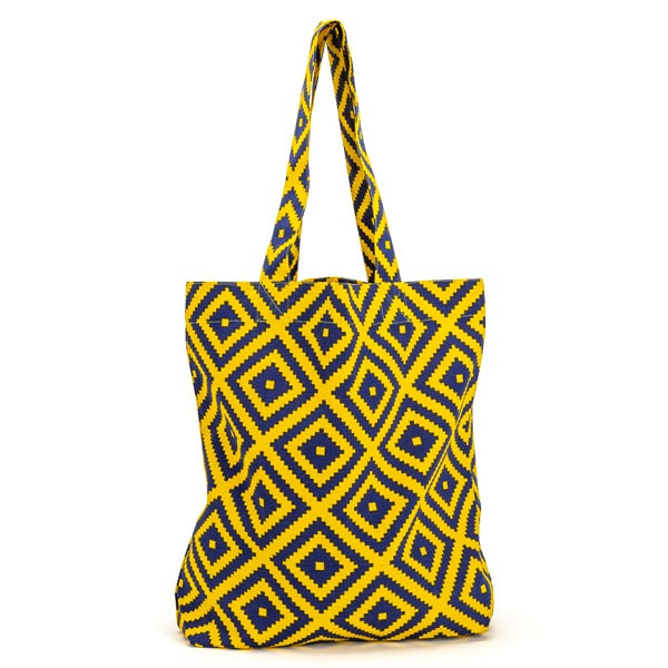JULIE'S YELLOW and BLUE BAG