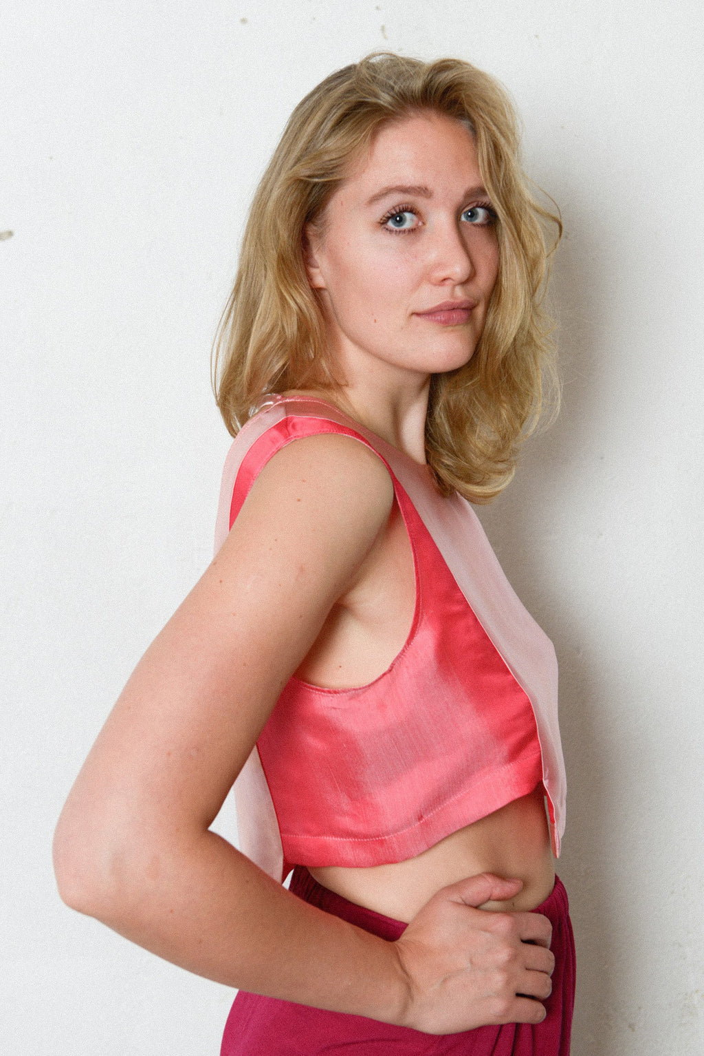 Chi Top - Pink/Red