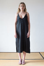 Xanh Dress Black Cheo