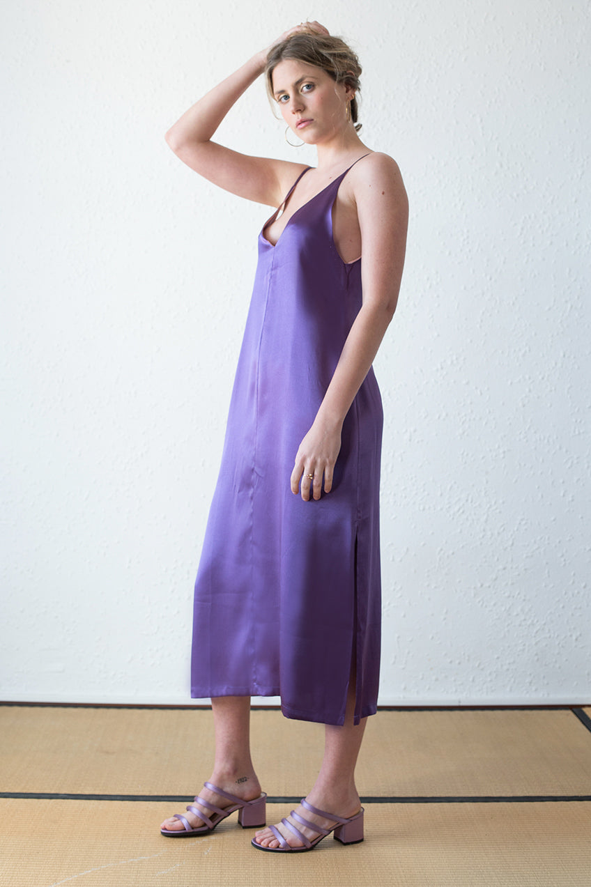 Xanh Dress Purple