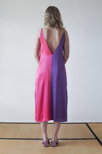 Xanh Dress- Purple/Fucsia