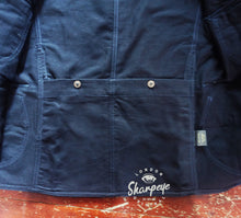 Load image into Gallery viewer, Shooter Jacket - Navy Japanese Gaberdine - (1-in-Ten) - reduced from £200