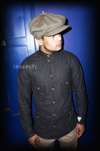 Load image into Gallery viewer, Safari Shirt - Grey Slubbed  Wool  (1-in-Ten) Engineered - reduced from £145