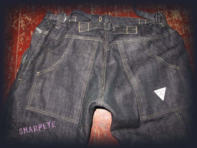 Stoker Jeans - Japanese Vintage Denim - Limited Edition (Old Stock - Looser Fit)