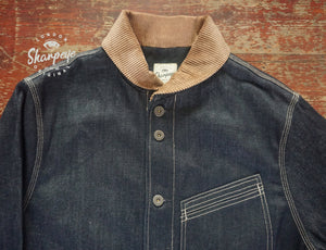 Stoker Jacket - Japanese Vintage Denim - Limited Edition - reduced from £170