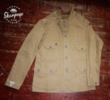 Load image into Gallery viewer, Shooter Jacket - Tan Japanese Gaberdine - (1-in-Ten) - reduced from £200