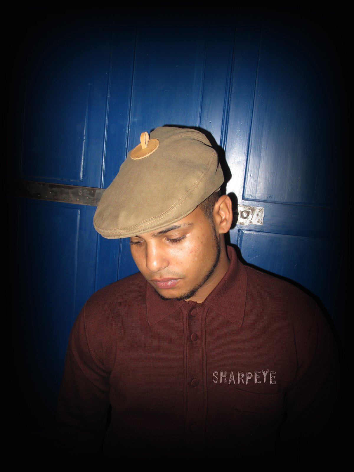 Poacher Cap - Tobacco - reduced from £50